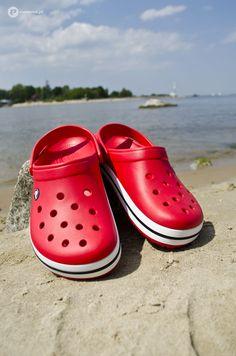 Red Crocs, Crocs Crocband, Crocs Shoes, Dream Shoes, Crock, Me Too Shoes, Vsco, Miami, Kicks