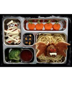 Get spooky all week long with these adorable lunch ideas from our friends at mom.me.