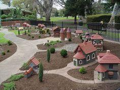 Tudor Village, Fitzroy Garden
