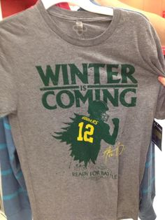 Game of Thrones and Green Bay Packers