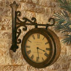 French Train Station Clock