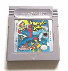 Original Gameboy Game Plays on GBC GBA SP SPIDER-MAN X-MEN Rare