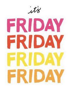 Buon venerdì!