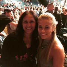 With Paige VanZant