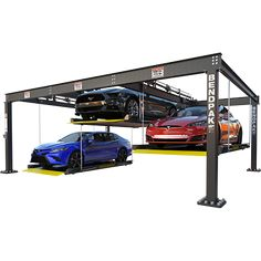 Lift a car with BendPak. BendPak parking lifts make the most out of your garage or shop because these parking lifts truly maximize your space. These garage lifts are the best vehicle storage solutions on the market today. Garage Lift, Garage Tools, Garage House, Garage Workshop, Garage Shop, Car Storage, Garage Storage, Home Car Lift, Shopping