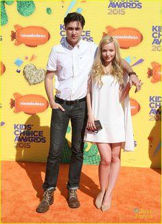 Dove Cameron and boyfriend Ryan McCartan at the Kids Choice Awards 2015