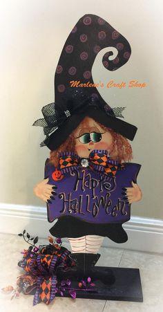 Halloween Witch DecorationHalloween witch standHalloween Halloween Witch Decorations, Whimsical Halloween, Adult Halloween Party, Halloween Trees, Halloween Porch, Holidays Halloween, Halloween Crafts, Happy Halloween, Halloween Images