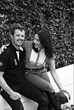 Beau Monde | Zien: prinses Mary en prins Frederik als ze nét wakker zijn!