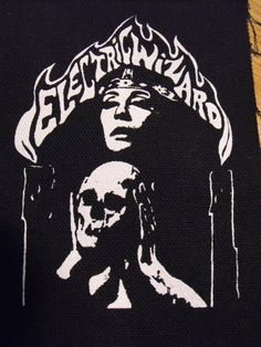 ELECTRIC WIZARD patch doom metal Free by LordOfTheLeftHand on Etsy, $2.99