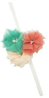 Tulle Flowers Elastic Headband Skinny Headbands, Elastic Headbands, Tulle Flowers, Stylish Dresses, Princess, Fashion, Moda, Elegant Dresses, Fashion Styles