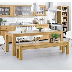 Artefama Kubo Pine Wood 63-inch Dining Table | The dining room table is where families come together. Choose the table design that defines your family's style and character. | http://moderndiningtables.net  #diningtable #diningroom #interiordesign #moderndiningtable #diningtableideas