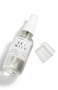 This hair spray is great for adding beachy texture and waves to hair, and is lightly scented with essential oils of lavender and sage.