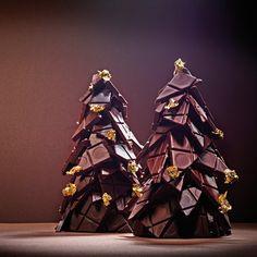 Wittamer Chocolate Christmas Gifts, Christmas Tree Chocolates, Christmas Bark, Chocolate Tree, Cocoa Chocolate, Homemade Chocolate, Christmas Goodies, Chocolate Lovers, Christmas Desserts