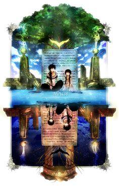 MAGI- Judal and Aladdin