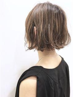 Short Hairstyles For Women, Cute Hairstyles, Bob Styles, Short Hair Styles, Hair Arrange, New Haircuts, Hair Designs, Hair Makeup, Hair Cuts
