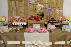 Floral Guest Dessert Feature