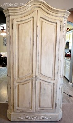 Bon Painted Walnut Louis XV Armoire | Armoires, Paint Furniture And Paint  Finishes