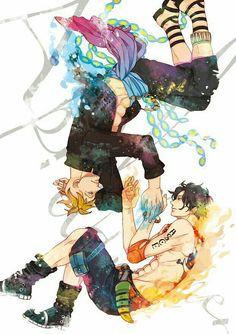 One Piece - Marco the Phoenix x Portgas D. Ace One Piece, One Piece Comic, One Piece Ship, One Piece Fanart, Blade Runner, Wattpad, Anime Manga, Anime Guys, Nos4a2