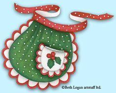 christmans apron