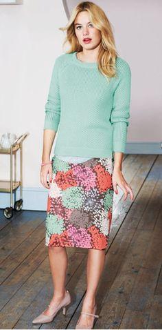 How to Make a Pencil Skirt Pattern | Crafts - Creativebug