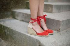 Look The Brunette sezane chic espadrilles castaner - french fashion blog 10