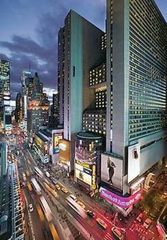 Mariott Marquis - Times Square, New York City - What a classy place!