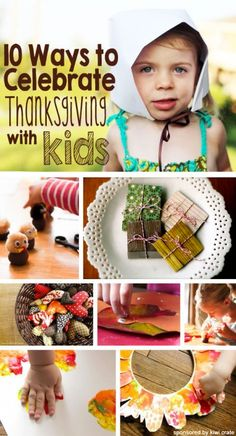 Great list of children's crafts & activities. *Keep kids entertained while prepping this year's Thanksgiving meal