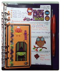 #ShareIG Day 31- Halloween Page And that's a wrap!!!! Woo-hoo #planneraddictspotd #filofax