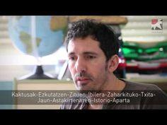 """Cesar Bona: """"En clase el respeto no se impone, se gana, poniéndonos al mismo nivel"""" (euskaraz) - YouTube"""