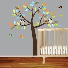Although, I will never need a nursery idea again, I had to post this! It is the best nursery ever :)