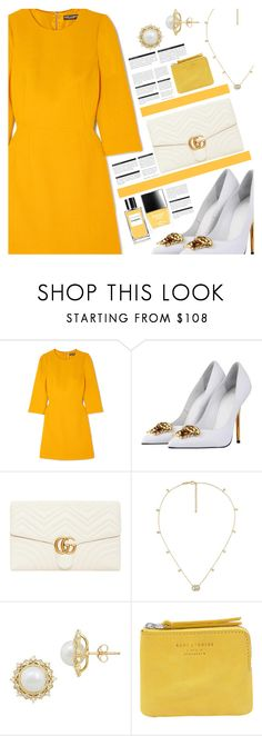 """089"" by earendil-xx ❤ liked on Polyvore featuring Dolce&Gabbana, Versace, Gucci, Lord & Taylor, Acne Studios, Chanel, Butter London and BoConcept"