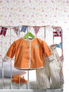free pattern - kostenloses Baby-Jacke und Baby-Hose                                                                                                                                                                                 Mehr
