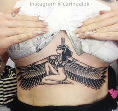 "Explore creative board ""Egyptian Tattoos"" on creativetatto. See more ideas about Egyptian tattoo, Tattoos and Egypt tattoo. Dope Tattoos, Body Art Tattoos, Sleeve Tattoos, Tattoos For Guys, Tattoos For Women, Mini Tattoos, Goddess Isis Tattoo, Piercing Tattoo, Piercings"