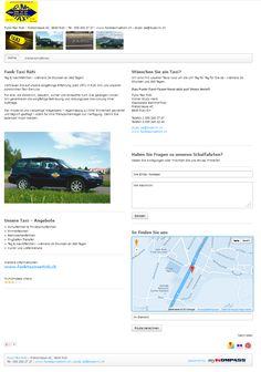 Taxi, Schulfahrten, Flughafen-Transfer, 24 Stunden Dienst, Rüti, Funk-Taxi Rüti