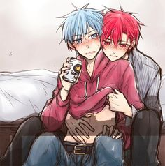 Read [xả ảnh]akakuro from the story Kuroko No Basketballs ( doujinshi ) [Yaoi]. Cartoon As Anime, Fan Anime, Anime Art, Kuroko No Basket, Gajeel Et Levy, Akashi Kuroko, Desenhos Love, Anime Suggestions, Kawaii Chan