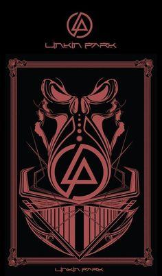 Rock Posters, Band Posters, Concert Posters, Music Posters, Rock Y Metal, Nu Metal, Heavy Metal, Linkin Park Wallpaper, Linkin Park Logo