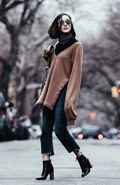 Chriselle Lim com Calça Cropped