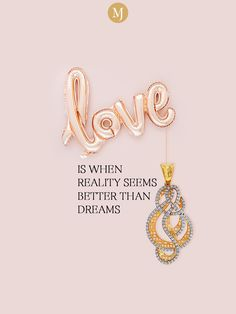 When you are in love, every day feels like a sweet dream. Celebrate this magical love with stunning #jewels from #MalaniJewelers. You can shop from our carefully-curated collections today. #MalaniJewelers Creativity Quotes, Jewelry Quotes, Custom Earrings, Self Love Quotes, Banner Design, Feels, Gold Necklace, Collections, Symbols
