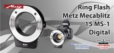 Ring Flash Metz Mecablitz 15 MS-1 Digital Kit