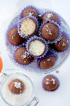 Rajski batonik   Moje Wypieki Polish Desserts, No Bake Desserts, Fruit Gums, Best Sweets, Pretzel Bites, Creme, Cake Recipes, Delish, Good Food