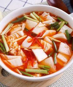 Korean Dishes, Korean Food, K Food, Asian Recipes, Ethnic Recipes, Recipes From Heaven, Kimchi, Food Design, No Cook Meals