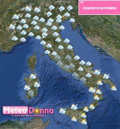 Previsioni meteo: Ancora forte maltempo al nord e regioni tirreniche del centro. Quota neve in calo sulle Alpi, primi fiocchi sopra i 1600 metri anche su Appennino tosco-emiliano. Acqua alta a Venezia.