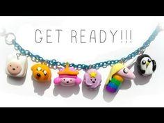 Adventure Time Charm Bracelet Tutorial + GIVEAWAY?!