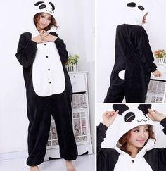 Hot Unisex Adult Flannel Pajamas Adults Cute Cartoon Homewear Animal Pajama Sets Hooded Sleepwear Pikachu/Stitch/Unicorn/Tiger