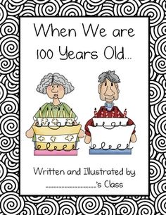 100th Day-I loved having the kids draw a picture of themselves when they are 100...it is so funny!!