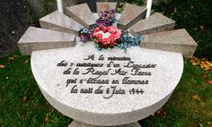 Not forgotten; the seven airmen of Cerisy-la-Salle – Normandy Then and Now
