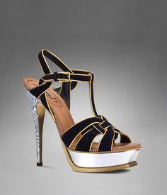 YSL tribute high heel sandal