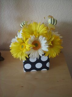 Baby Bee Centerpiece