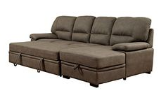 Furniture of America Canby Contemporary Sectional with Sleeper & Chaise, Ash Brown Furniture of America http://www.amazon.com/dp/B015Q4KOU0/ref=cm_sw_r_pi_dp_BFkHwb0VD857A