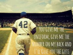 """I'll give you the guts."" We love this baseball movie!"